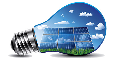 Solar Powered Bulb